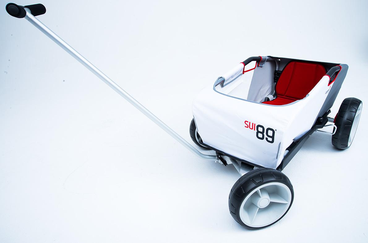 gogo bollerwagen leggero der sichere veloanh nger f r. Black Bedroom Furniture Sets. Home Design Ideas